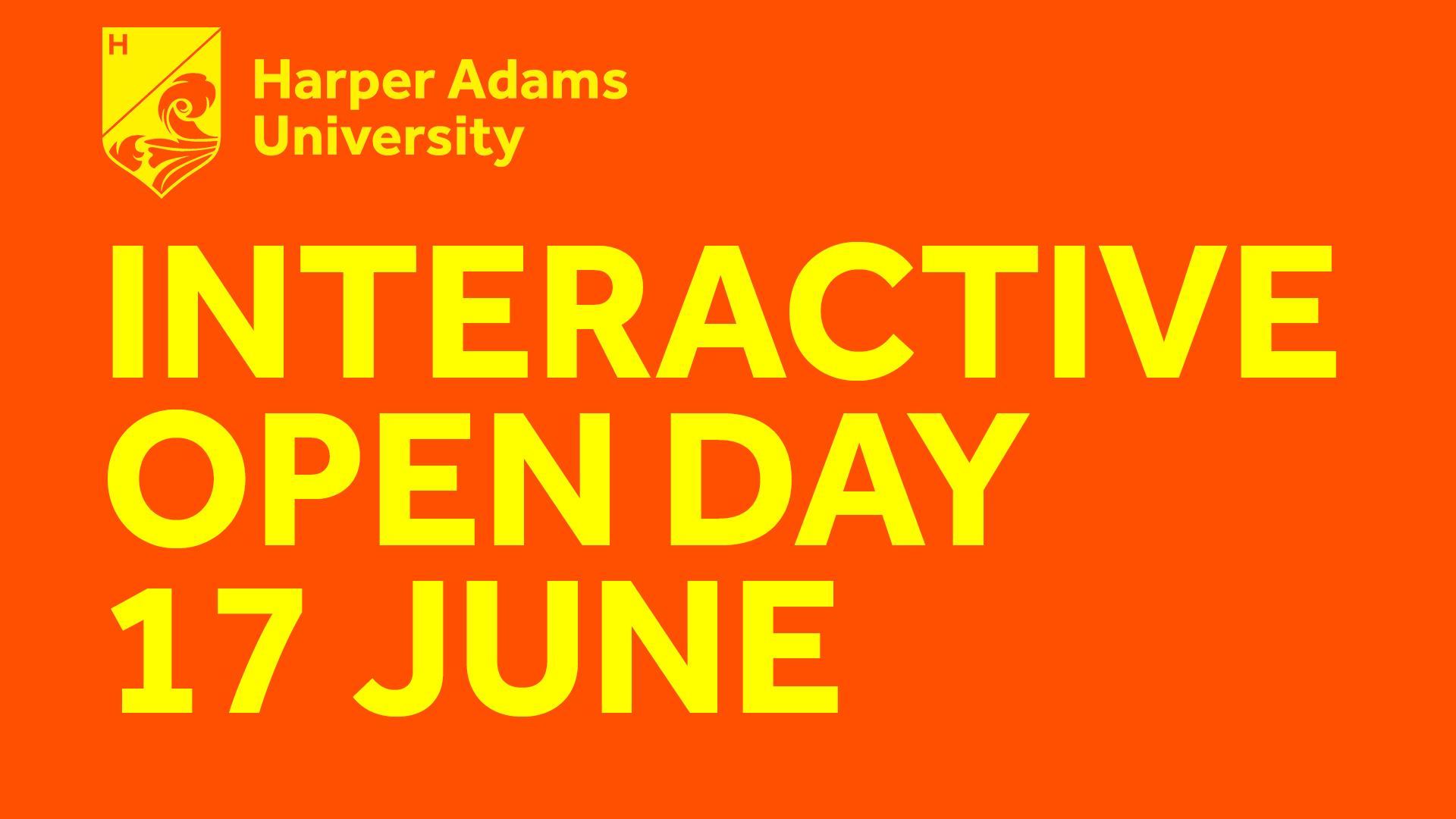 Virtual Open Day - 17 June 2020
