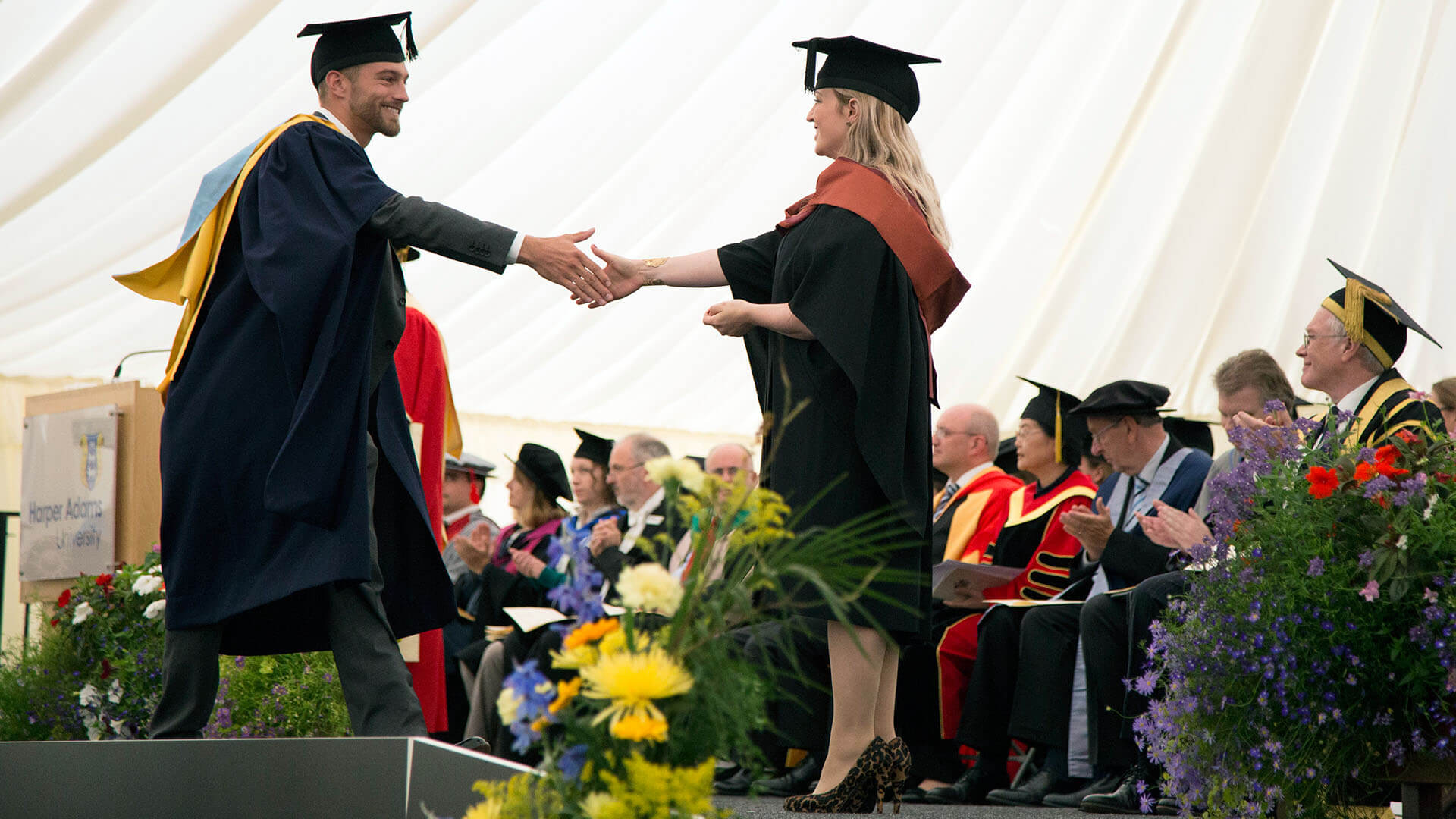 events graduation information harper adams university