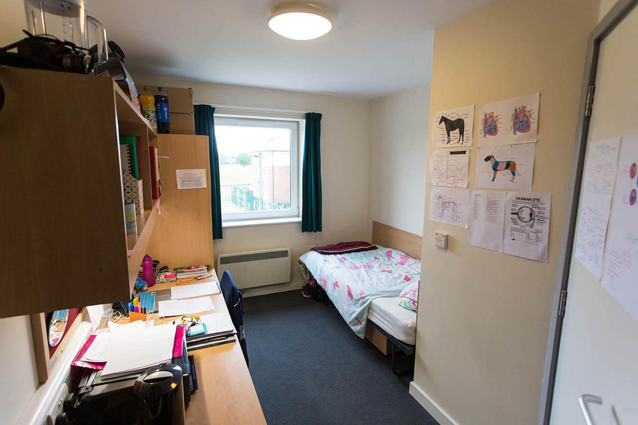 Accommodation Princess Royal Hall Harper Adams University